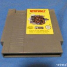 Videojuegos y Consolas: EXPRO JUEGO NES PAL W8 RFG WEREWOLF. Lote 222915981