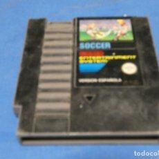 Videojuegos y Consolas: EXPRO JUEGO NES PAL ESP SOCCER MUY PINTADO CON EDDING. Lote 222916132