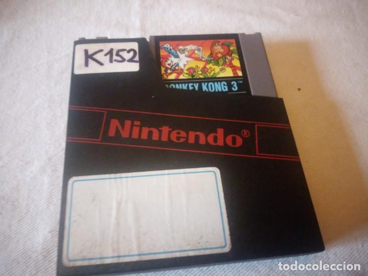 JUEGO NINTENDO NES DONKEY KONG 3 VERSION EUROPEA 1985 ORIGINAL PAL B (Juguetes - Videojuegos y Consolas - Nintendo - Nes)