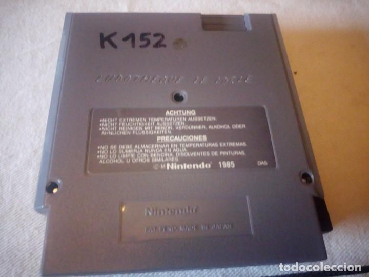Videojuegos y Consolas: juego nintendo nes DONKEY KONG 3 VERSION EUROPEA 1985 ORIGINAL PAL B - Foto 5 - 223665716