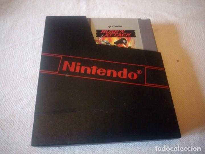 JUEGO NINTENDO NES RUSHN ATTACK 1985 ORIGINAL PAL B,ORIGINAL (Juguetes - Videojuegos y Consolas - Nintendo - Nes)