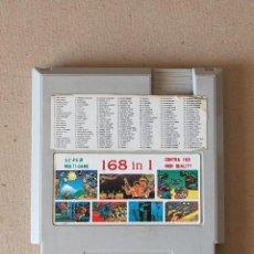 Videojuegos y Consolas: SUPER MULTI GAME 168 IN 1 - CARTUCHO PARA NINTENDO NES CLONICO - ENTERTAINMENT COMPUTER SYSTEM. Lote 224761440