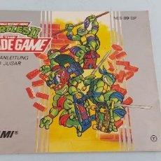Jeux Vidéo et Consoles: ANTIGUO MANUAL DE CONSOLA NINTENDO NES ORIGINAL AL 100% TURTLE. Lote 225123926