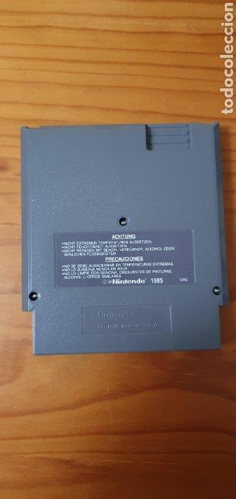 Videojuegos y Consolas: JUEGO SUPER MARIO BRIS / DUCK HUNT NINTENDO 1985 NES - Foto 2 - 227216485