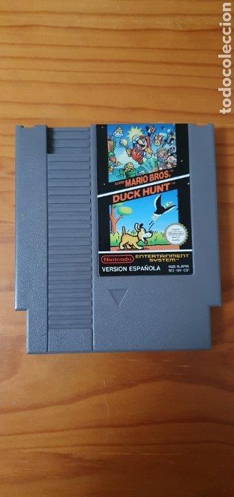 JUEGO SUPER MARIO BRIS / DUCK HUNT NINTENDO 1985 NES (Juguetes - Videojuegos y Consolas - Nintendo - Nes)