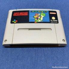 Videojuegos y Consolas: JUEGO SUPER NINTENDO SUPER MARIO WORLD - PAL VERSION - ESP. Lote 228091185