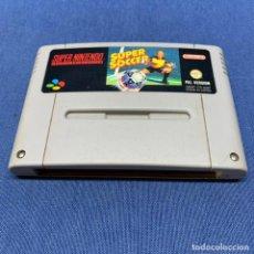 Videojuegos y Consolas: JUEGO SUPER NINTENDO SUPER SOCCER - PAL VERSION - ESP. Lote 228091860