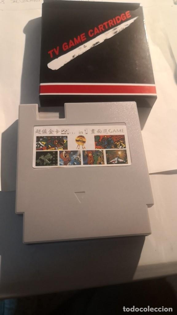 JUEGO CLON NINTENDO NES NUEVO A ESTRENAR 21 EN 1 (Juguetes - Videojuegos y Consolas - Nintendo - Nes)