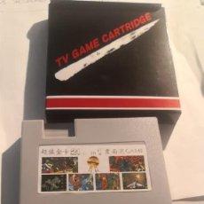 Videojuegos y Consolas: 2 CARTUCHOS CLONICO CLON NINTENDO NES 21 EN 1 NUEVO SIN USO EN CAJA. Lote 230478300