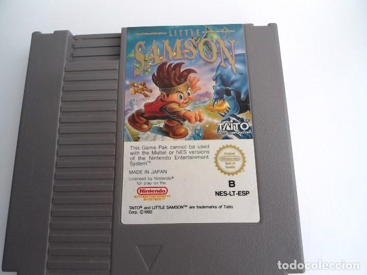 Videojuegos y Consolas: LITTLE SAMSON - NINTENDO NES - CARTUCHO ORIGINAL - TAITO Corp. 1992 - MUY BUEN ESTADO - MUY RARO - Foto 2 - 243500285