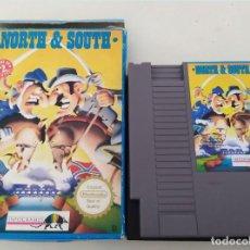 Videojuegos y Consolas: NINTENDO NES : NORTH AND SOUTH. Lote 235086010
