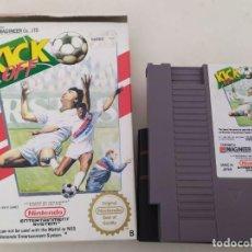 Videojuegos y Consolas: NINTENDO NES :KICK OFF + GREMLINS 2 + TENNIS. Lote 235252430
