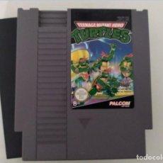 Videojuegos y Consolas: NINTENDO NES : TEENAGE MUTANT HERO TURTLES (1 Y 2). Lote 235254110