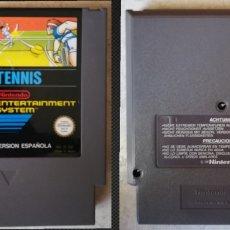 Videojuegos y Consolas: TENNIS ORIGINAL CARTUCHO NINTENDO NES PAL B ESPAÑA. Lote 235615125