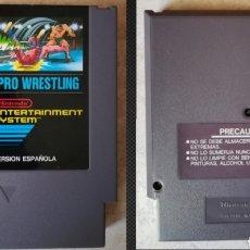Videojuegos y Consolas: PRO WRESTLING ORIGINAL PAL B ESPAÑA NINTENDO NES. Lote 235615160