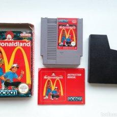 Videogiochi e Consoli: MCDONALDLAND MC DONALDLAND COMPLETO NINTENDO NES. Lote 236933745