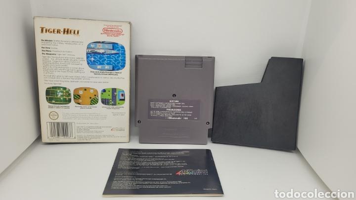 Videojuegos y Consolas: JUEGO NINTENDO TIGER HELI. NES. COMPLETO CON INSTRUCCIONES. - Foto 2 - 238223680