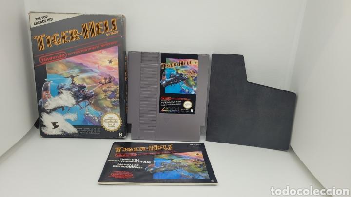JUEGO NINTENDO TIGER HELI. NES. COMPLETO CON INSTRUCCIONES. (Juguetes - Videojuegos y Consolas - Nintendo - Nes)
