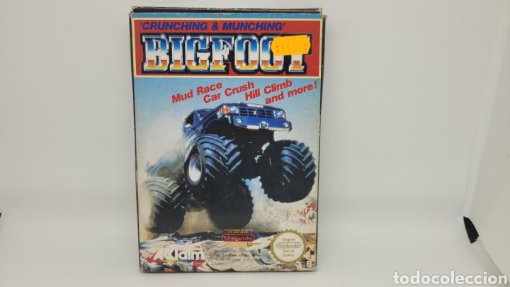 Videojuegos y Consolas: JUEGO NINTENDO BIGFOOT. NES BIG FOOT. FOLLETO KONAMI. - Foto 3 - 238225050
