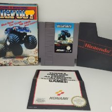 Videojuegos y Consolas: JUEGO NINTENDO BIGFOOT. NES BIG FOOT. FOLLETO KONAMI.. Lote 238225050