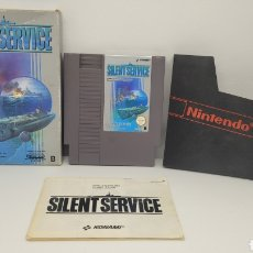 Videojuegos y Consolas: JUEGO NINTENDO SILENT SERVICE. NES. COMPLETO.. Lote 238226870