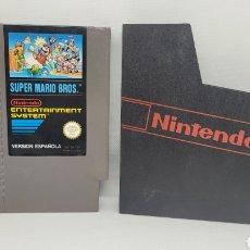 Videojuegos y Consolas: JUEGO NINTENDO SUPER MARIO BROS. NES. VERSIÓN ESPAÑOLA.. Lote 238249335