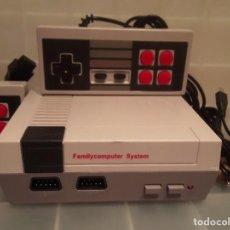 Videojuegos y Consolas: CONSOLA RETRO NINTENDO NES CON DOS MANDOS Y CABLES. Lote 240234945