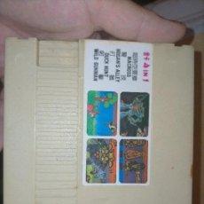 Videojuegos y Consolas: 4 IN 1 CLONE NINTENDO NES MACROSS DUCK HUNT WILD GUNMAN HOGANS ALLEY. Lote 241069600
