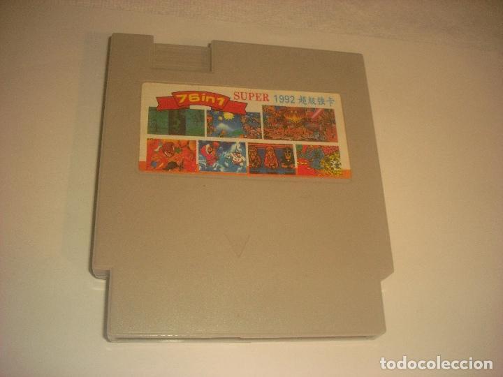76 IN 1 , SUPER 1992 CARTUCHO DE JUEGOS PARA NINTENDO NES . JAPONES. (Juguetes - Videojuegos y Consolas - Nintendo - Nes)