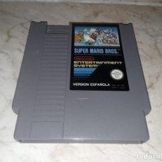 Videojuegos y Consolas: SUPER MARIO BROS PARA NINTENDO NES VERSION ESPAÑOLA SOLO CARTUCHO. Lote 243243340