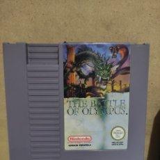 Videojuegos y Consolas: JUEGO NINTENDO NES ( THE BATTLE OF OLIMPUS).. Lote 243287490