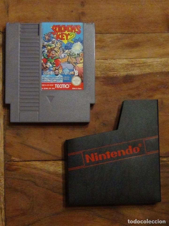 JUEGO NINTENDO NES SALOMON 'S KEY 2 NINTENDO NES PAL (Juguetes - Videojuegos y Consolas - Nintendo - Nes)