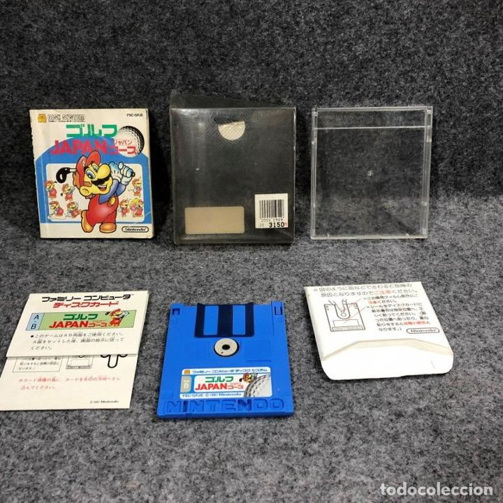 GOLF JAPAN COURSE FAMICOM DISK NINTENDO NES (Juguetes - Videojuegos y Consolas - Nintendo - Nes)