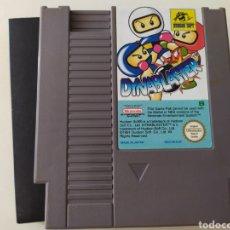 Videojuegos y Consolas: NES - DYNABLASTER + BALLON FIGHT + SKI OR DIE. Lote 244811625