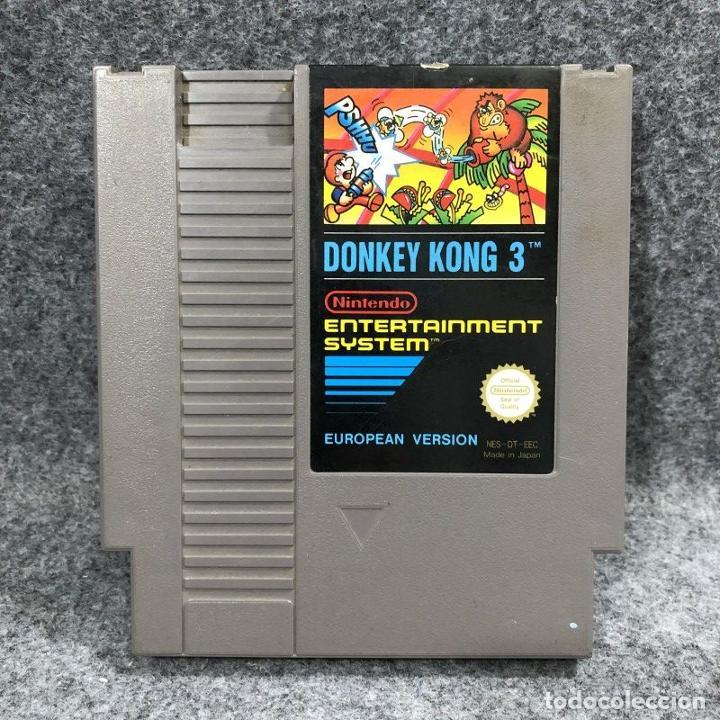 DONKEY KONG 3 NINTENDO NES (Juguetes - Videojuegos y Consolas - Nintendo - Nes)