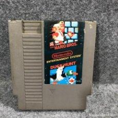 Videojuegos y Consolas: SUPER MARIO BROS AND DUCK HUNT NINTENDO NES. Lote 244837750