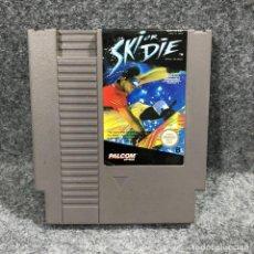 Videojuegos y Consolas: SKI OR DIE NINTENDO NES. Lote 244837755
