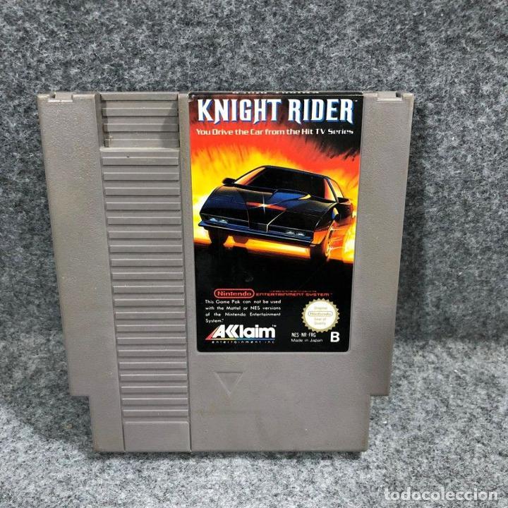KNIGHT RIDER NINTENDO NES (Juguetes - Videojuegos y Consolas - Nintendo - Nes)