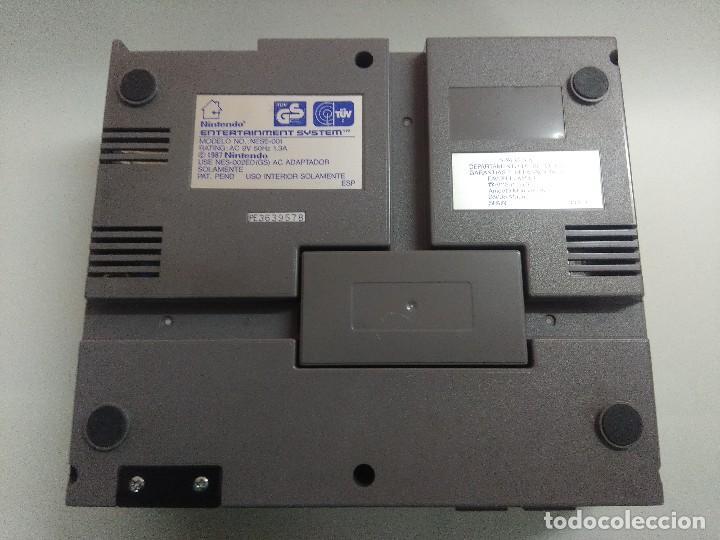 Videojuegos y Consolas: CONSOLA NINTENDO NES INCOMPLETA. - Foto 7 - 245556025