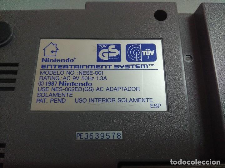 Videojuegos y Consolas: CONSOLA NINTENDO NES INCOMPLETA. - Foto 8 - 245556025