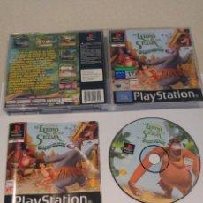 Videojuegos y Consolas: EL LIBRO DE LA SELVA PS1 PLAYSTATION PSONE PSX COMPLETO PAL-ESPAÑA. Lote 245957000