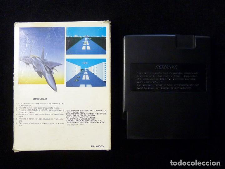 Videojuegos y Consolas: F-15 CITY WAR. GLUK. JUEGO CON CAJA PARA NINTENDO NES, NASA, YESS, MICRO GENIUS, CREATION, SILVER SH - Foto 2 - 246094070