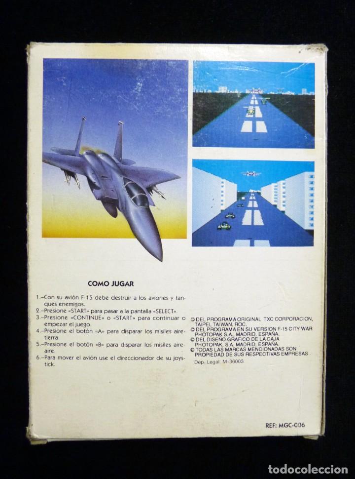 Videojuegos y Consolas: F-15 CITY WAR. GLUK. JUEGO CON CAJA PARA NINTENDO NES, NASA, YESS, MICRO GENIUS, CREATION, SILVER SH - Foto 4 - 246094070
