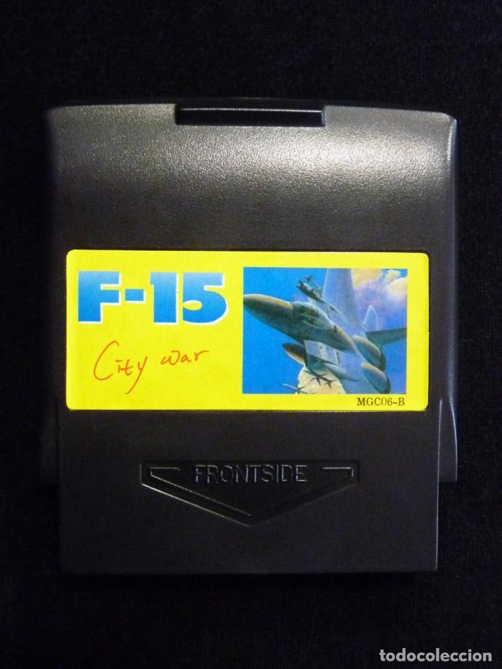 Videojuegos y Consolas: F-15 CITY WAR. GLUK. JUEGO CON CAJA PARA NINTENDO NES, NASA, YESS, MICRO GENIUS, CREATION, SILVER SH - Foto 5 - 246094070