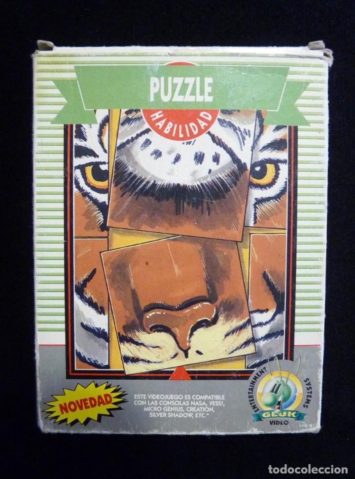 Videojuegos y Consolas: PUZZLE. GLUK. JUEGO CON CAJA PARA NINTENDO NES, NASA, YESS, MICRO GENIUS, CREATION, SILVER SHADOW... - Foto 3 - 246094330
