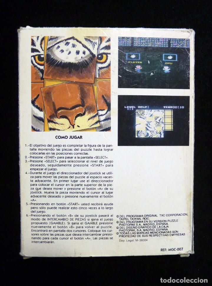 Videojuegos y Consolas: PUZZLE. GLUK. JUEGO CON CAJA PARA NINTENDO NES, NASA, YESS, MICRO GENIUS, CREATION, SILVER SHADOW... - Foto 4 - 246094330