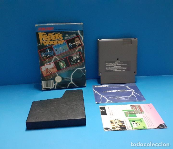 Videojuegos y Consolas: juego para nintendo nes. Festers quest , Festers Quest. Completo. - Foto 2 - 247442300