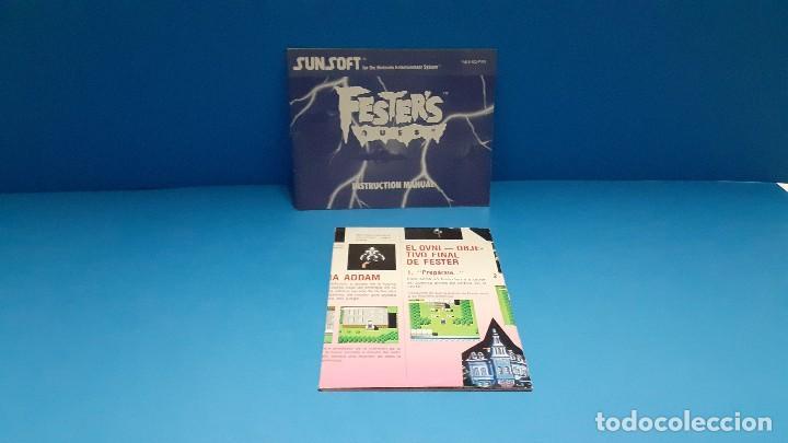 Videojuegos y Consolas: juego para nintendo nes. Festers quest , Festers Quest. Completo. - Foto 11 - 247442300