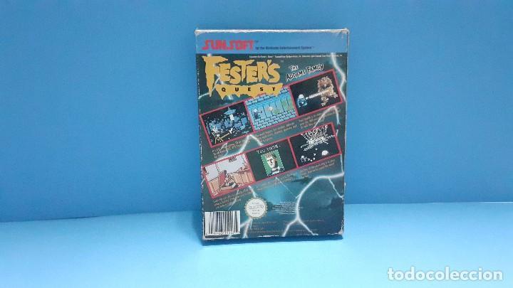 Videojuegos y Consolas: juego para nintendo nes. Festers quest , Festers Quest. Completo. - Foto 13 - 247442300