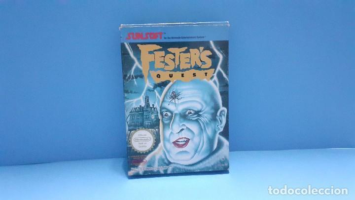 Videojuegos y Consolas: juego para nintendo nes. Festers quest , Festers Quest. Completo. - Foto 14 - 247442300